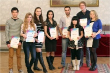 Announcement of Winners of Kazan-City Contest in the Russian Language among International Students