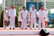 KFU greets the Flame of 27th Summer Universiade