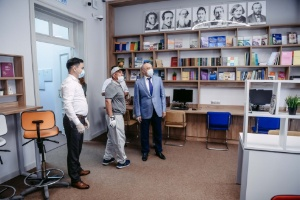 President of Tatarstan Rustam Minnikhanov visited Preparatory School facilities ,Preparatory School, President of Tatarstan