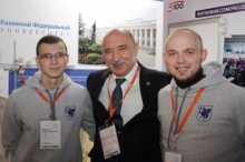 Kazan University Presents Its Achievements at National Tech Fair in Moscow
