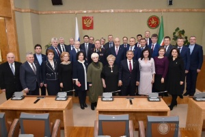 President of Tatarstan Rustam Minnikhanov held a year-end meeting with academics ,President of Tatarstan, Science Day, WLREC
