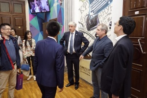 Higher School of Journalism visited by Shanghai United Media Group