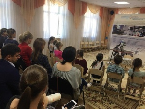 In the Kazan kindergarten №188 was successfully finished series of lessons with the robot